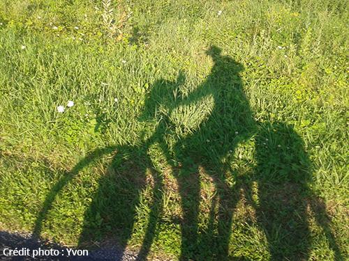 Promenade à vélo Yvon