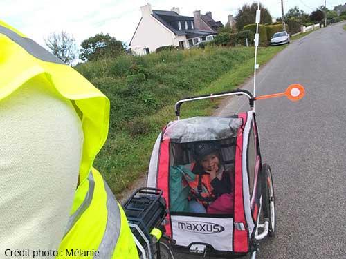 Remorque vélo enfant Maxxus