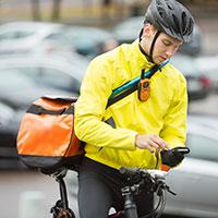 Appel à témoignages de travailleurs à vélo : coursier