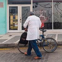 Appel à témoignages de travailleurs à vélo : médecin