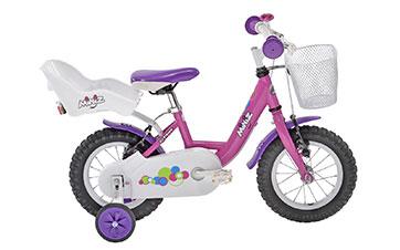 Vélo fille Miniz 12 F Gitane avec roulettes