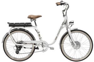 Vélo électrique Peugeot Legend 24 pouces cadre bas eLC01 - Blanc