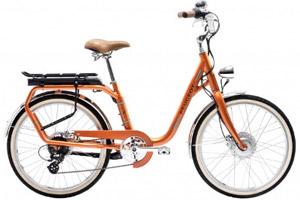 Vélo de ville électrique eLC01 Legend Peugeot - orange