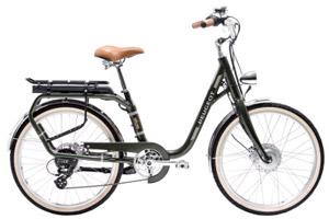 Vélo électrique cadre col de cygne 24 pouces e-LC01 Peugeot vert