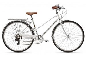 Vélo de ville style vintage Peugeot Legend LC01 D7 Blanc 45cm