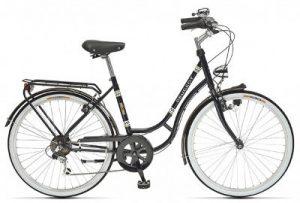 Vélo de ville vintage aux équipements actuels Peugeot Legend LC21