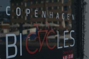 De nombreux magasins de vélo à Copenhague