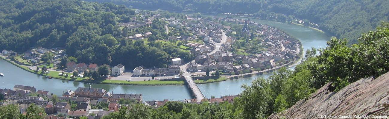Cyclotourisme sur la Meuse à vélo