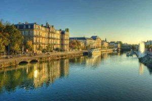 La Meuse à vélo à Verdun
