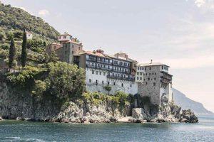 Mont Athos en Grèce