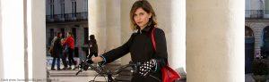Michèle, Cyclamelle et le vélo