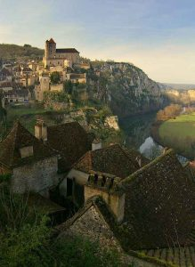 Le village perché de St-Cirq-Lapopie
