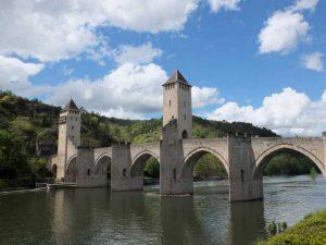 Le pont médiéval de Cahors sur le Lot