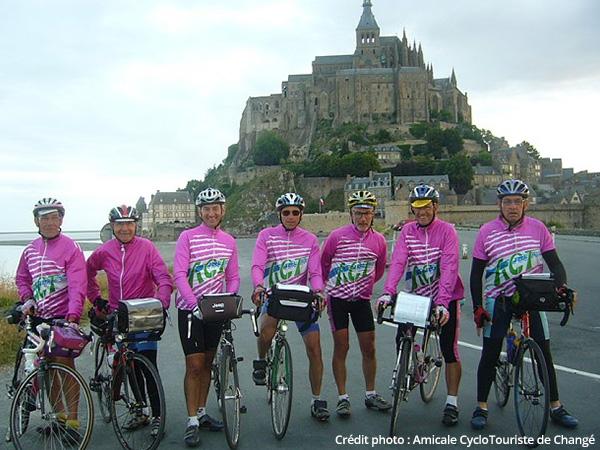 Au pied du Mont Saint Michel