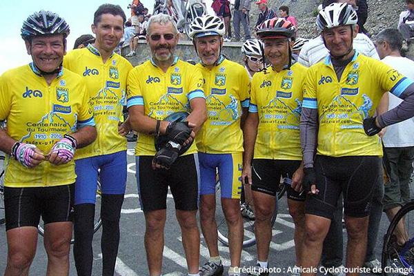 Amicale cyclotouriste de Changé au sommet du Tourmalet