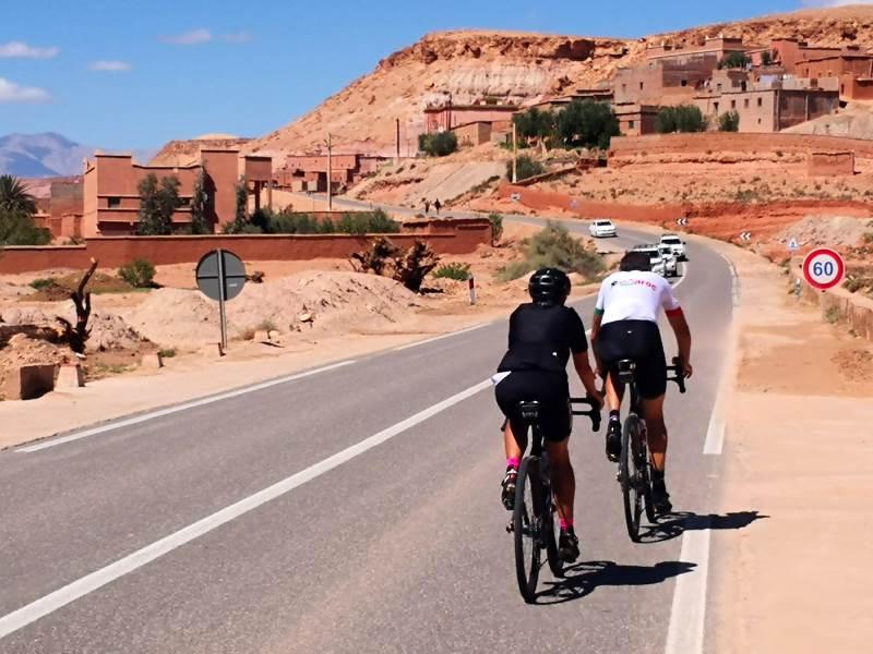 Vélo Maroc vous amène pédaler dans des paysages hors du commun