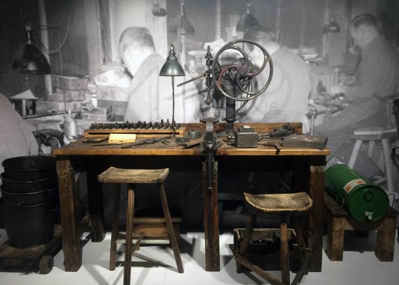 Le premier atelier d'August Bremicker, le fondateur d'Abus