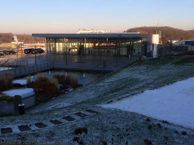 La siège d'Abus à Wetter en Allemagne