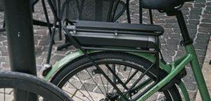 Un VAE équipé d'un pneu Hutchinson Haussmann