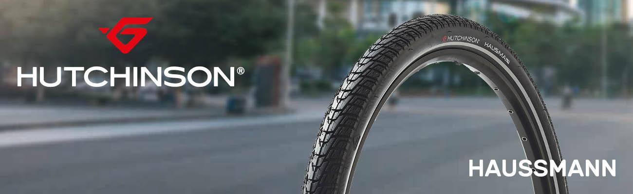 Hutchinson Haussmann, des pneus pour la ville et vélos électriques