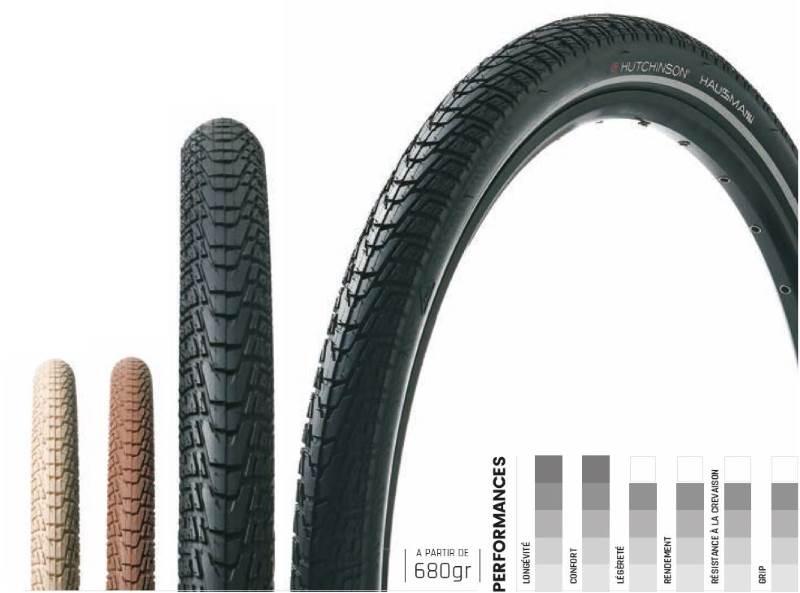 Le pneu Hutchinson Haussmann pour vélos classiques