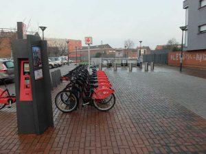 La station V'lille de métro Roubaix-Charles de Gaulle