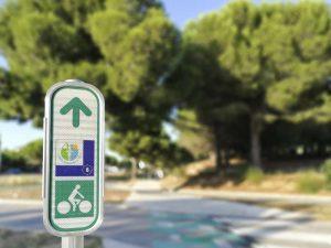 Signalisation EV8 - Méditerranée à vélo