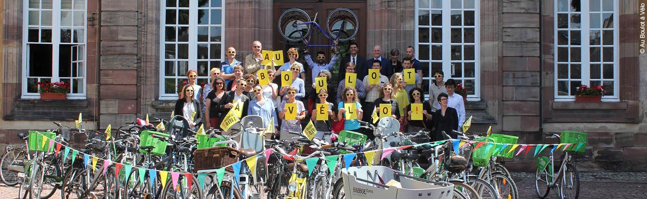 Le challenge «Au Boulot à Vélo», un défi pour venir au bureau à bicyclette