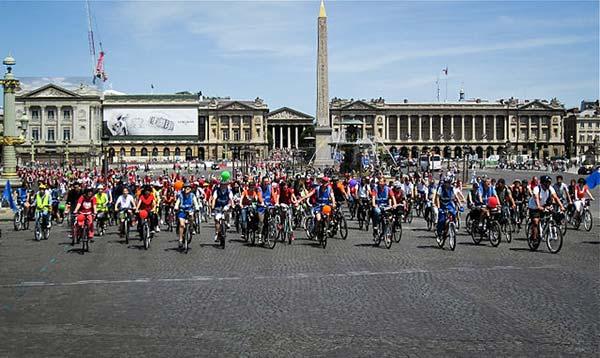 La Convergence Vélo francilienne, une instituation de la Fête du Vélo