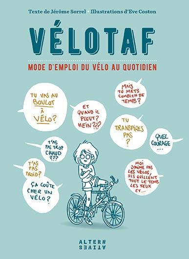 Couverture du guide du Vélotaf