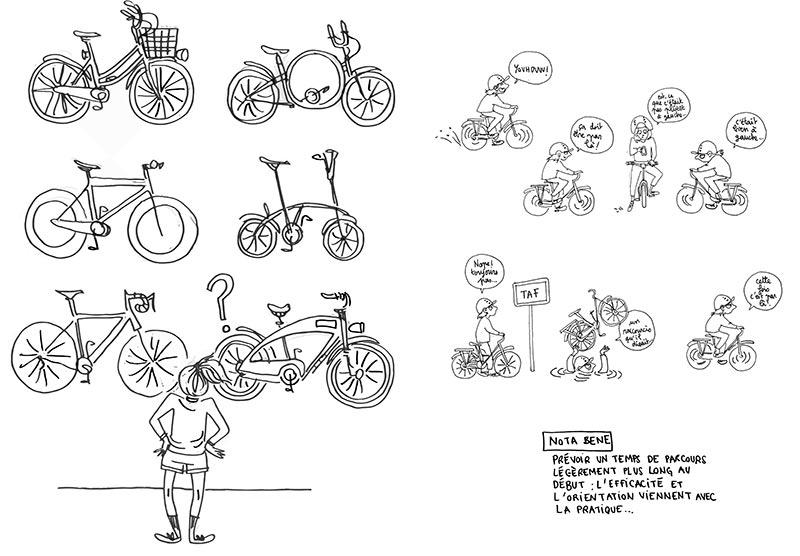 Les illustrations pleines d'humour d'Eve Coston