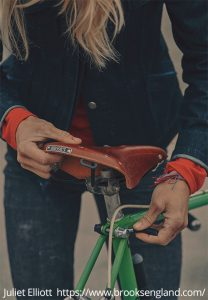 Selle vélo femme Brooks England