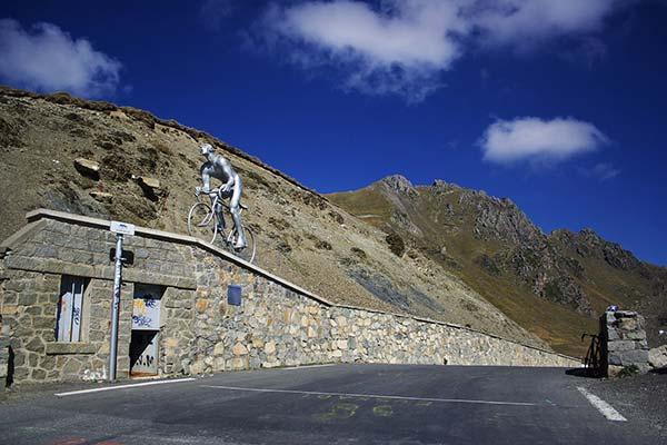 Le col du Tourmalet, une arrivée mythique du Tour de France
