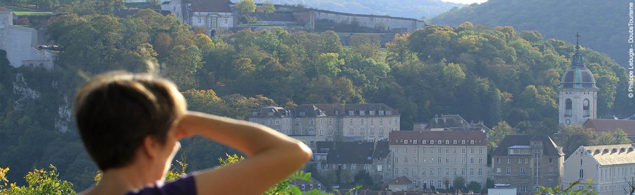Découvrir Besançon à vélo le temps d'une journée sur l'EuroVelo 6