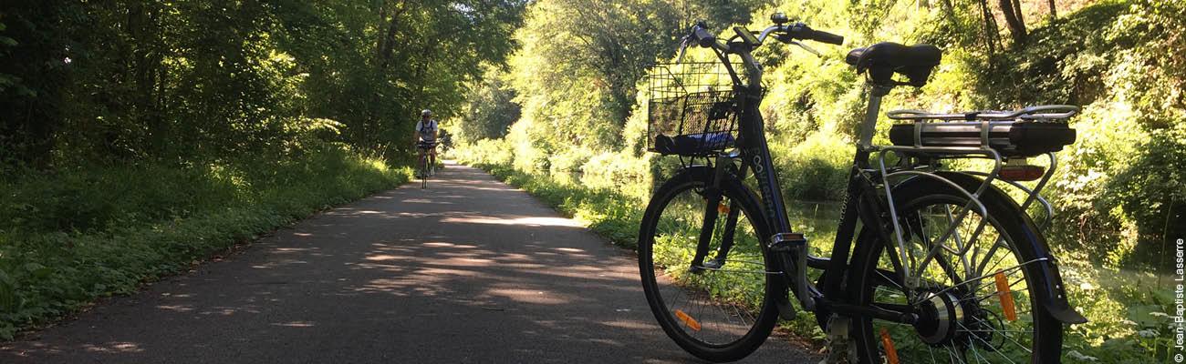 Le Doubs à vélo entre Baume-les-Dames et Montbéliard sur l'EuroVelo 6