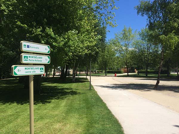 Parc du Près-la-Rose à Montbéliard