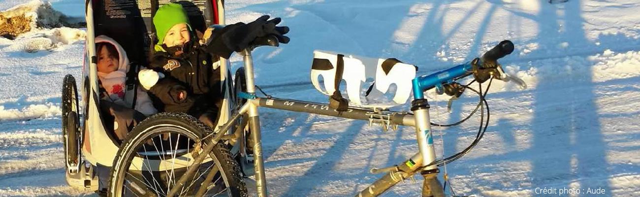 Témoignage de Aude, «les enfants adorent aller à l'école à vélo»