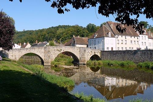 Pont roman à Chambon-sur-Voueize