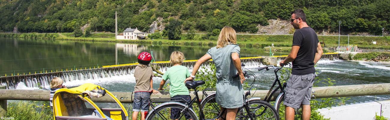 Balade à vélo sur la voie verte Trans-Ardennes