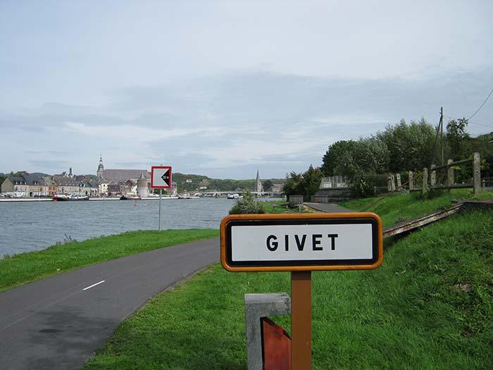 La voie verte Trans-Ardennes à Givet