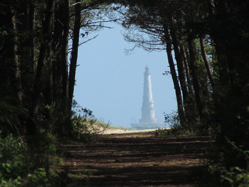 Le phare de Cordouan depuis Royan