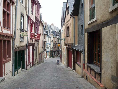 Les rues médiévales du Mans