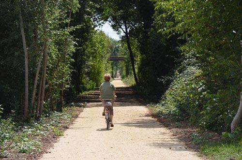 La Voie Verte entre La Flèche et Saumur