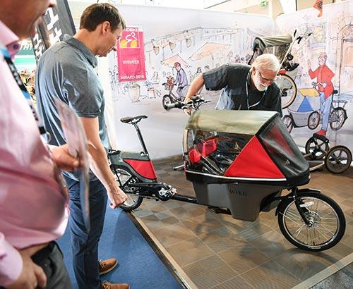 Le vélo cargo a fait parler de lui en 2018 à l'Eurobike