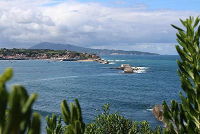 Le fort de Socoa depuis la Pointe de Sainte-Barbe