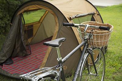 Camping en voyage à vélo