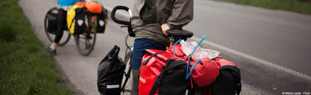 Ortlieb, des sacoches vélos de qualité pour la ville comme pour le voyage