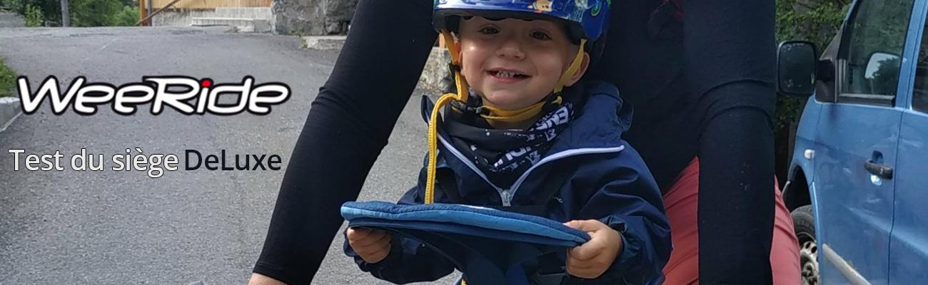 Ils ont testé le siège vélo Weeride Safe Front Deluxe pour enfant