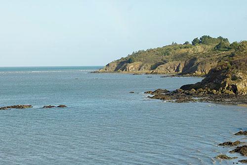 La Baie de Saint-Brieux sur la Voie 8 Bretagne