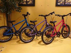Les vélos enfants se sont aussi fait leur place à l'Eurobike 2019